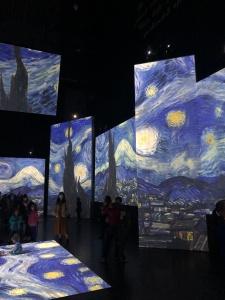 Van Gogh Alive at the Birmingham Hippodrome Starry Night
