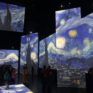 Van Gogh Alive at the Birmingham Hippodrome Starry Night