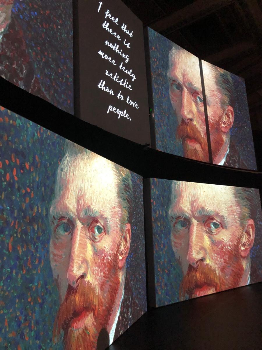 Van Gogh Alive at the Birmingham Hippodrome 7